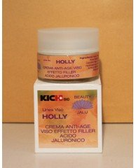 HOLLY - Crema viso antiage filler acido jaluronico Linea Acido Jaluronico